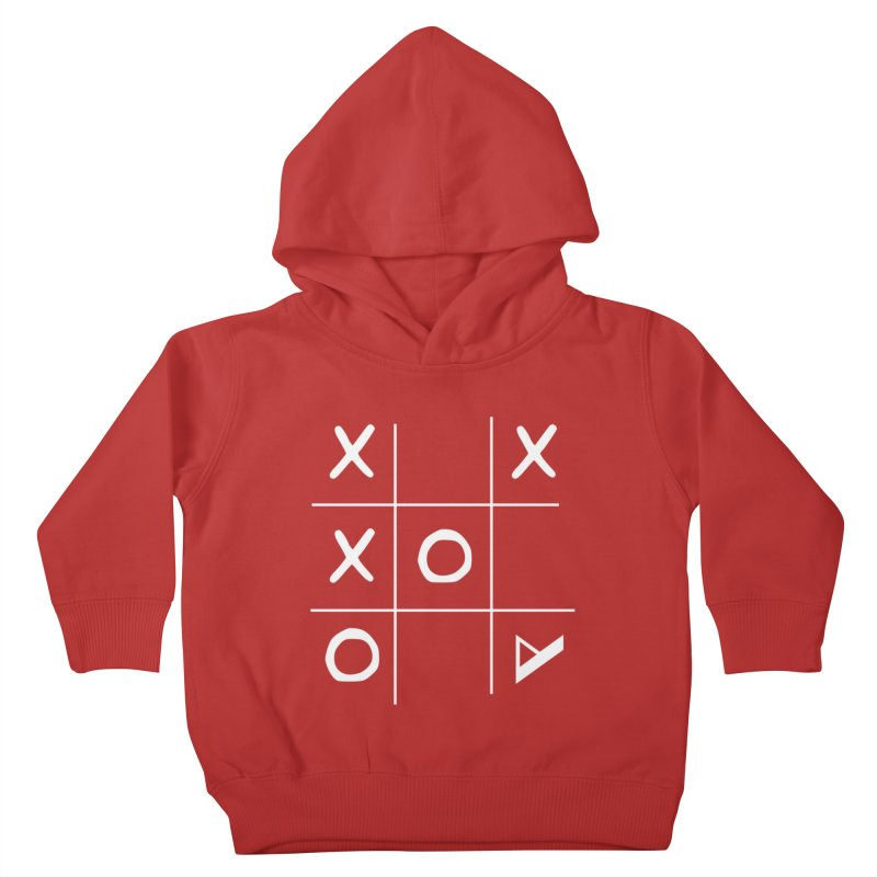 Tic Tac Toe Kids Toddler Pullover Hoody by Var x Apparel