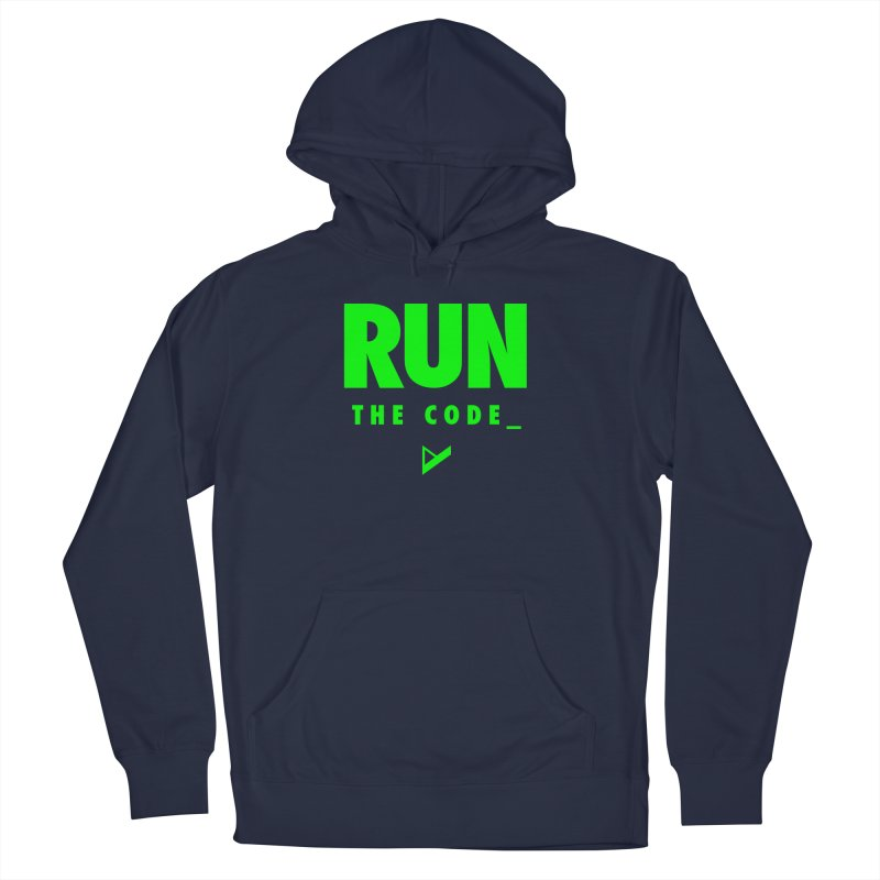 Run The Code Women's French Terry Pullover Hoody by Var x Apparel