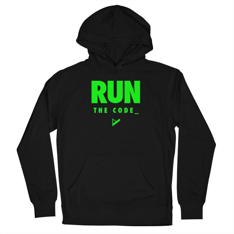 Run The Code Men's French Terry Pullover Hoody by Var x Apparel