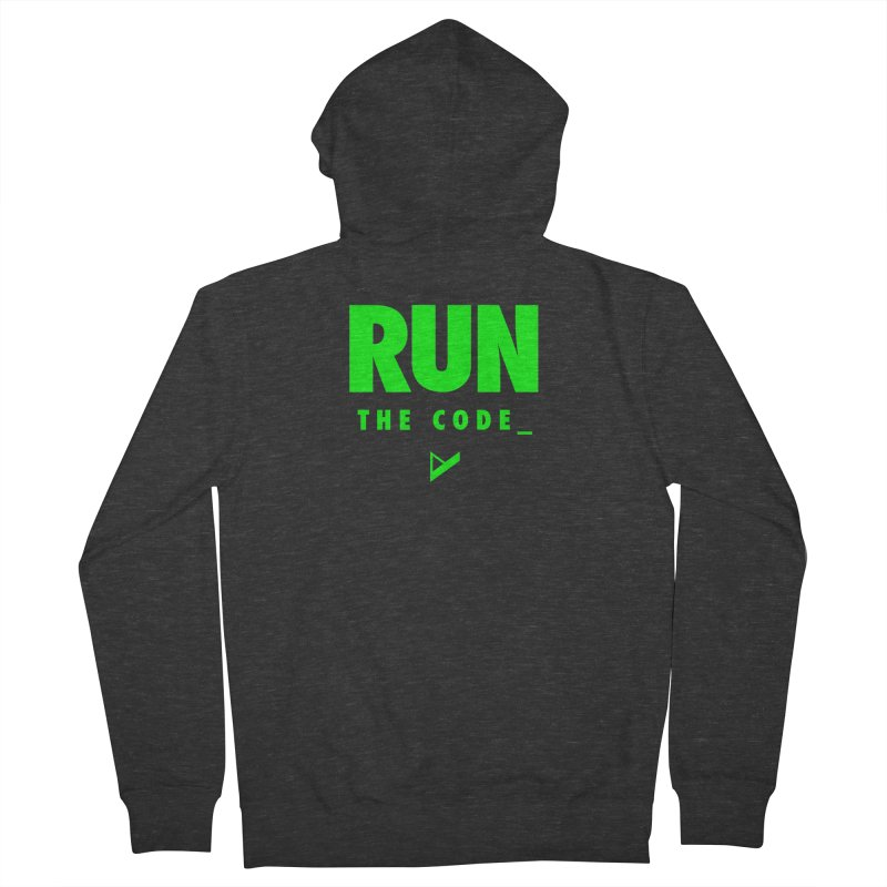 Run The Code Women's French Terry Zip-Up Hoody by Var x Apparel