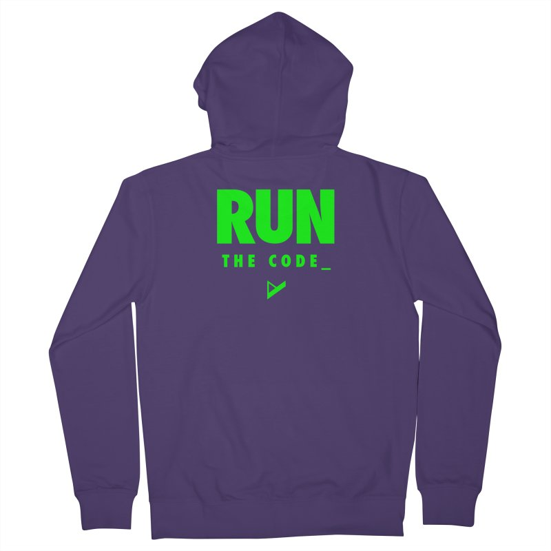 Run The Code Women's Zip-Up Hoody by Var x Apparel
