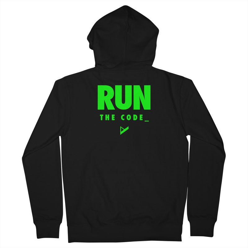 Run The Code Men's French Terry Zip-Up Hoody by Var x Apparel