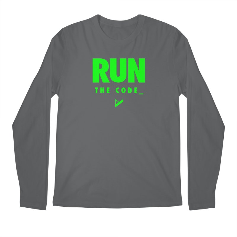 Run The Code Men's Longsleeve T-Shirt by Var x Apparel