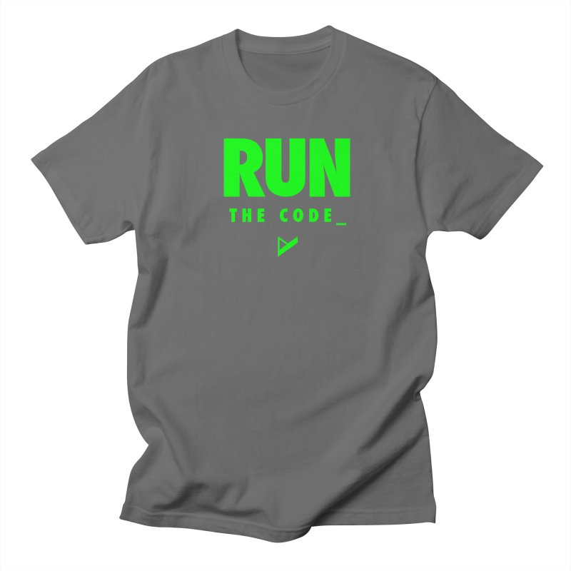 Run The Code Men's T-Shirt by Var x Apparel