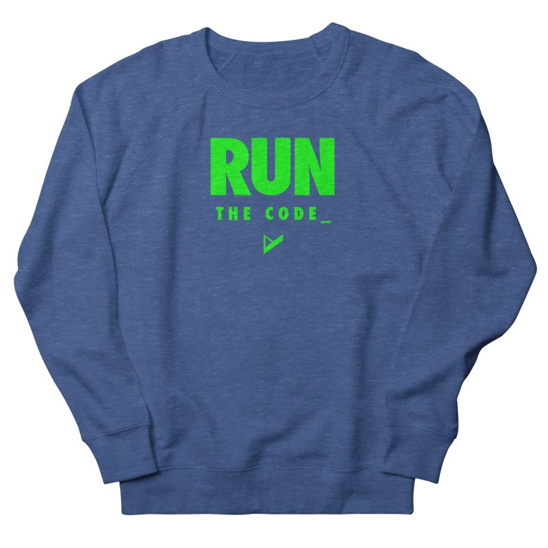 Run The Code Women's Sweatshirt by Var x Apparel