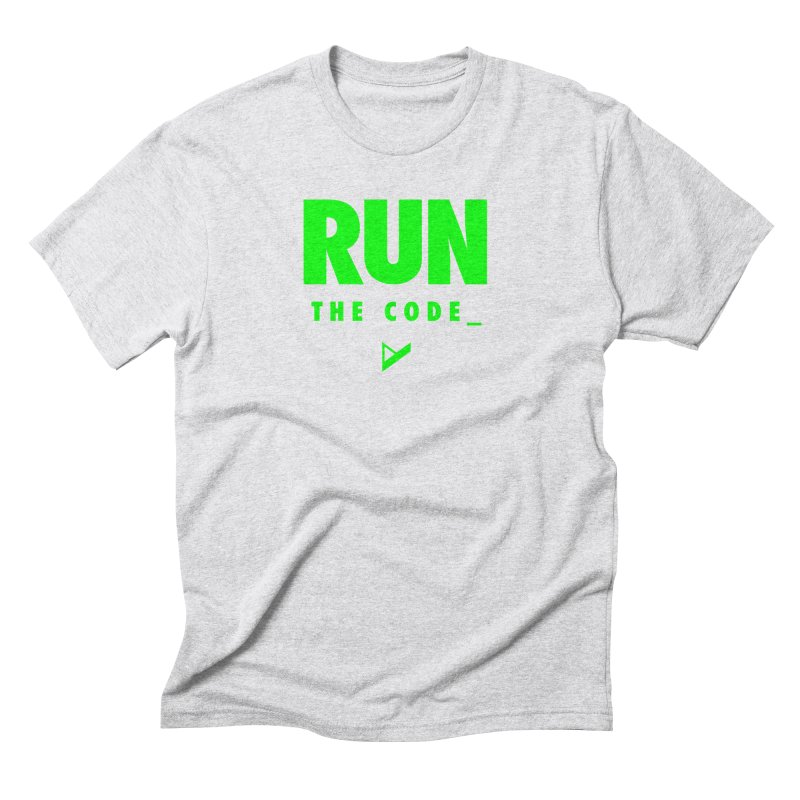 Run The Code Men's Triblend T-Shirt by Var x Apparel