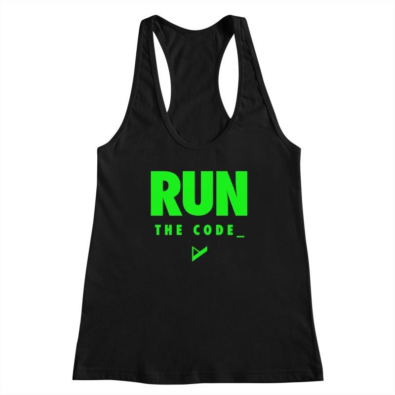 Run The Code Women's Tank by Var x Apparel