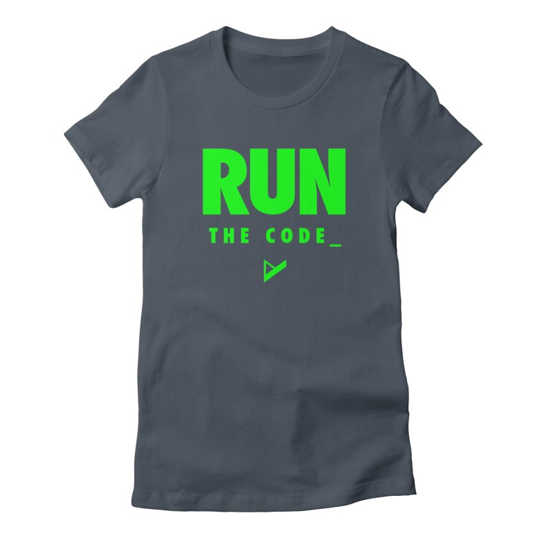 Run The Code Women's T-Shirt by Var x Apparel