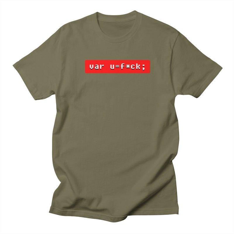 F*ck Women's Regular Unisex T-Shirt by Var x Apparel
