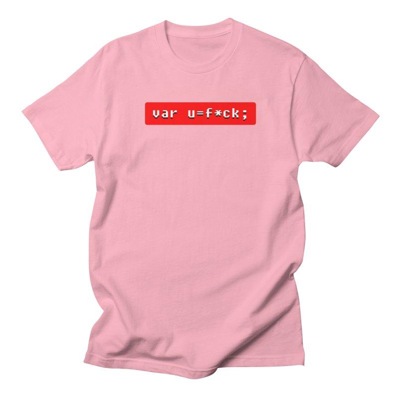 F*ck Men's Regular T-Shirt by Var x Apparel