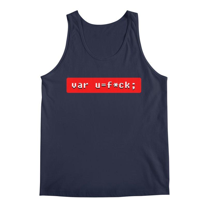F*ck Men's Regular Tank by Var x Apparel