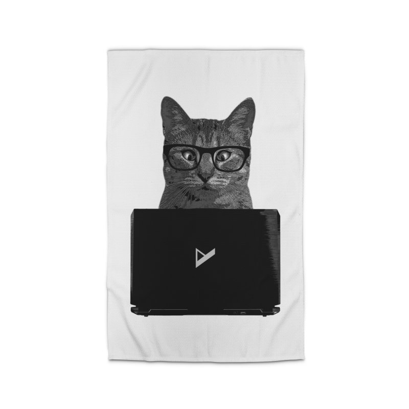 Cat Coding Home Rug by Var x Apparel