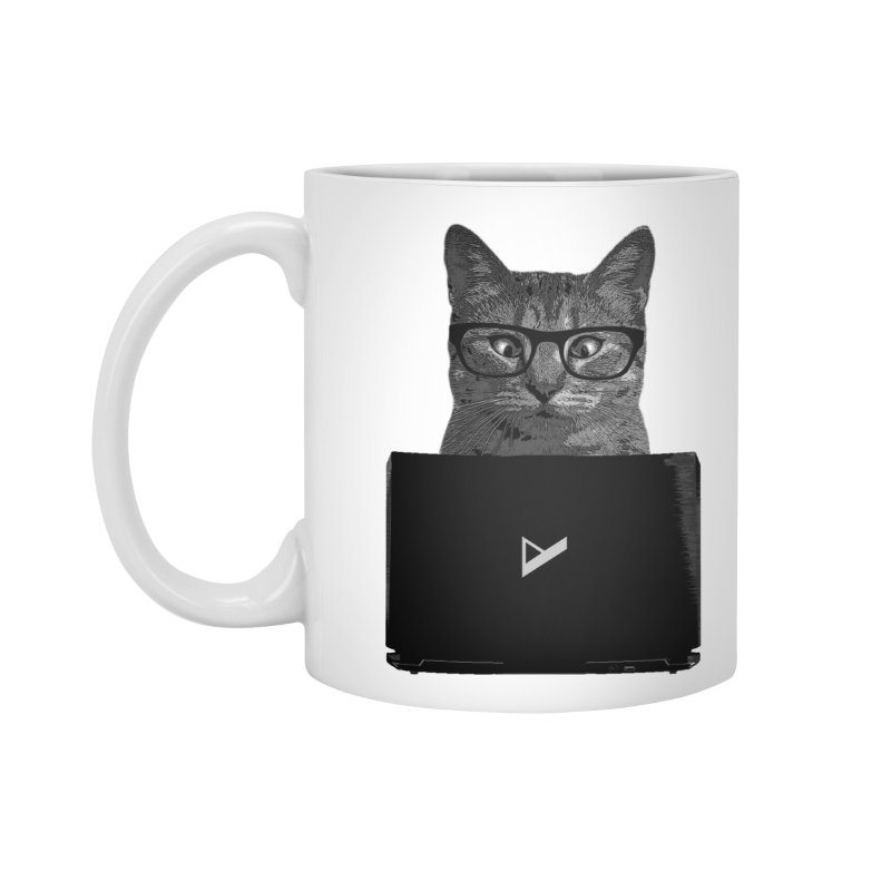 Cat Coding Accessories Mug by Var x Apparel