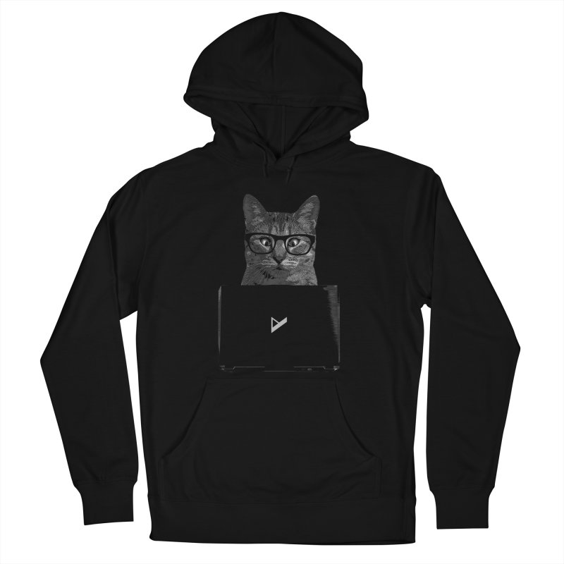 Cat Coding Women's French Terry Pullover Hoody by Var x Apparel