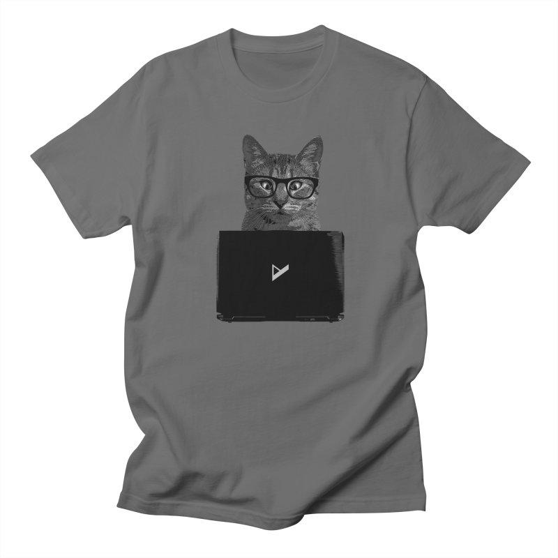 Cat Coding Men's Regular T-Shirt by Var x Apparel