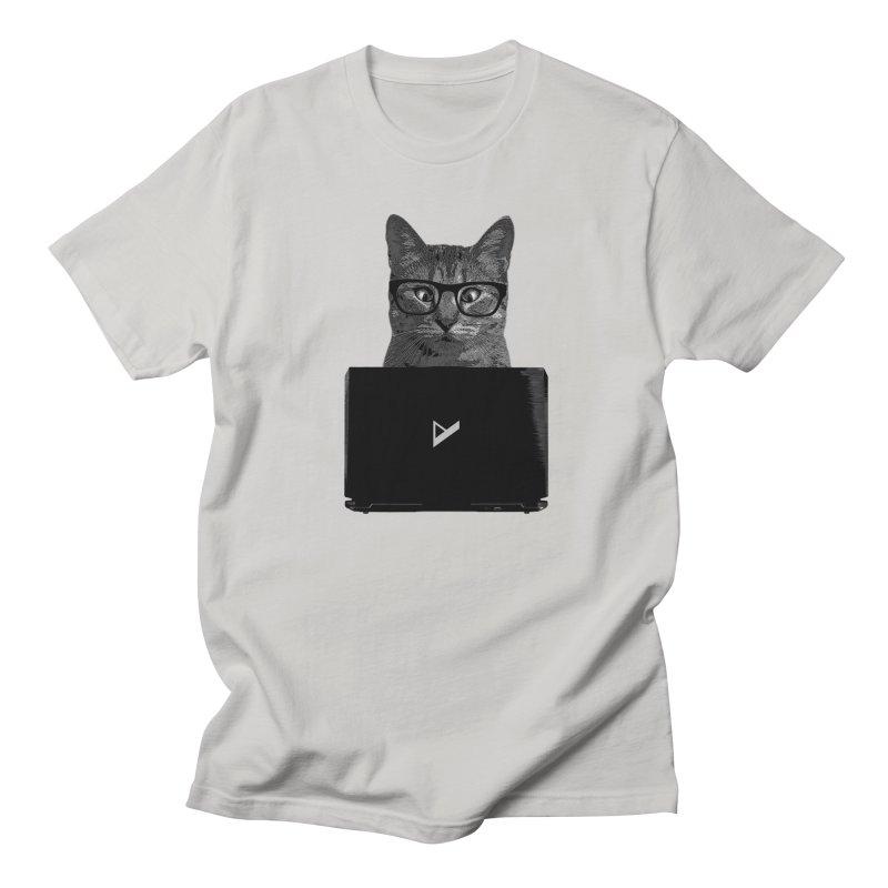 Cat Coding Women's Regular Unisex T-Shirt by Var x Apparel