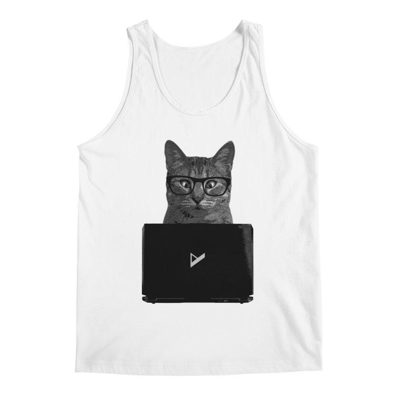Cat Coding Men's Tank by Var x Apparel