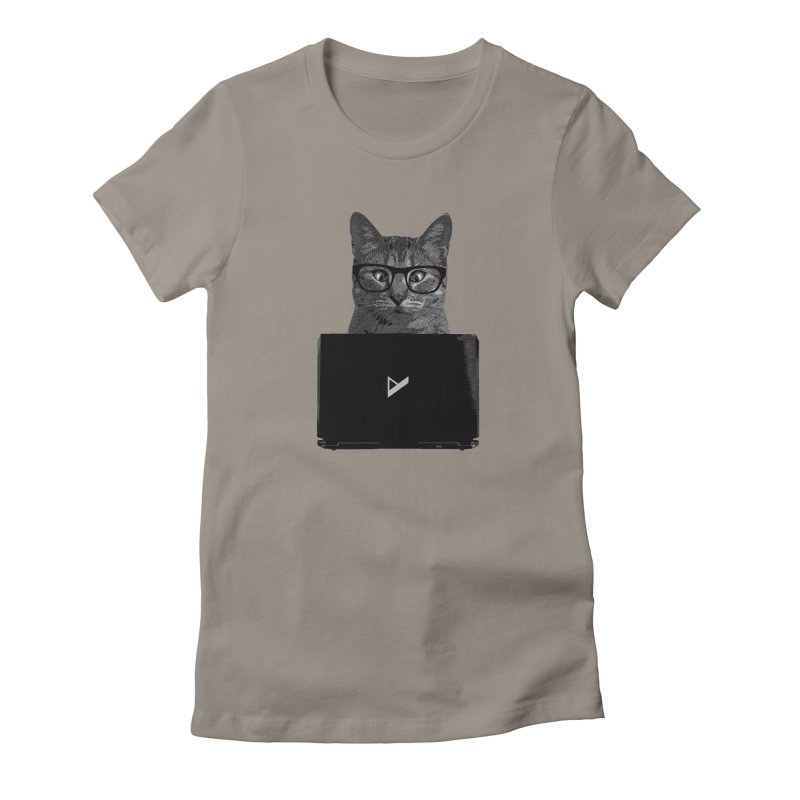 Cat Coding Women's T-Shirt by Var x Apparel
