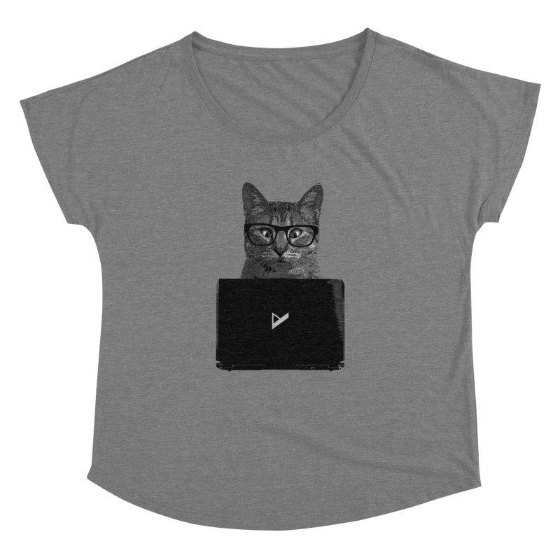 Cat Coding Women's Dolman Scoop Neck by Var x Apparel