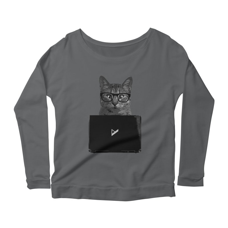 Cat Coding Women's Longsleeve T-Shirt by Var x Apparel