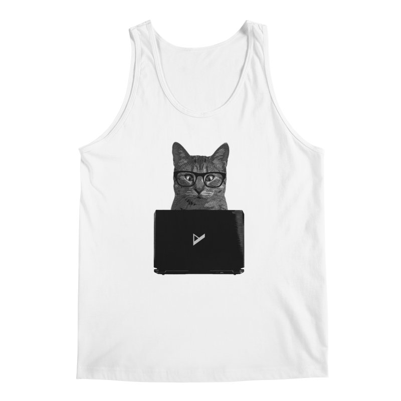 Cat Coding Men's Regular Tank by Var x Apparel