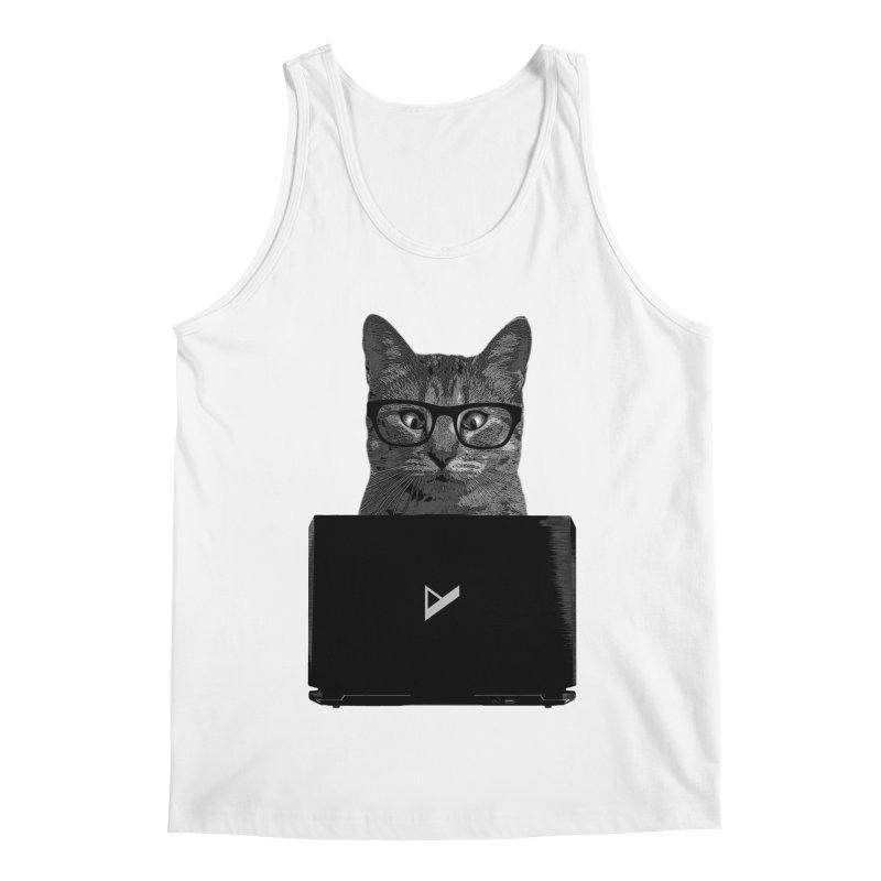 Cat Coding Men's Regular Tank by Var x Apparel
