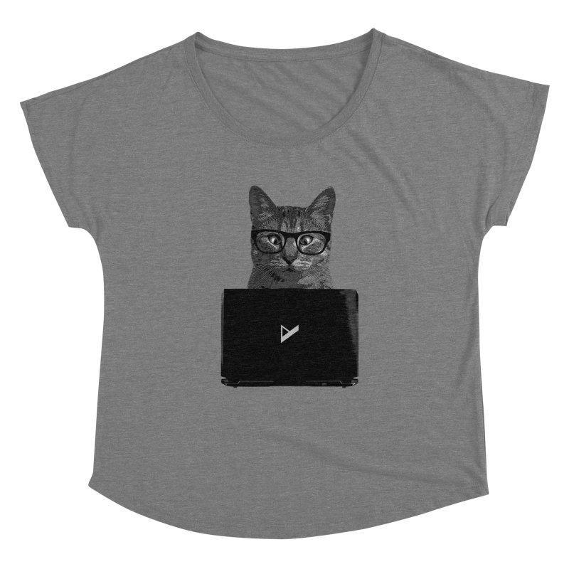 Cat Coding Women's Scoop Neck by Var x Apparel