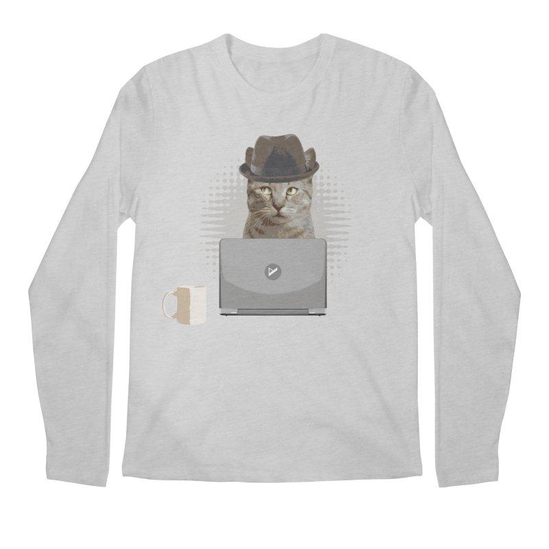 Doing the Math Men's Regular Longsleeve T-Shirt by Var x Apparel