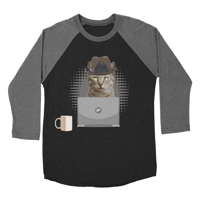 Doing the Math Men's Baseball Triblend Longsleeve T-Shirt by Var x Apparel