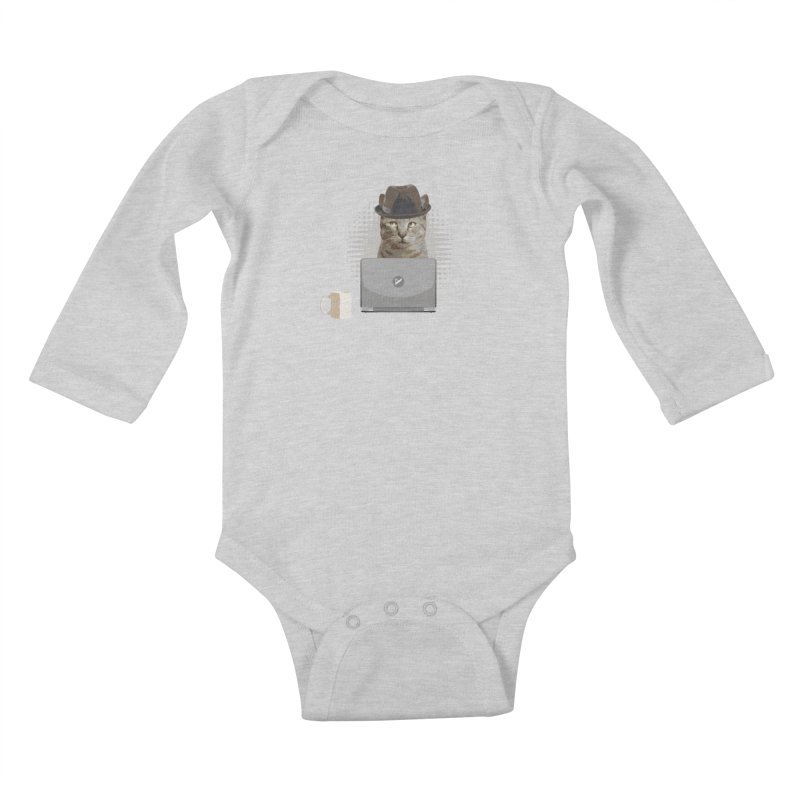 Doing the Math Kids Baby Longsleeve Bodysuit by Var x Apparel