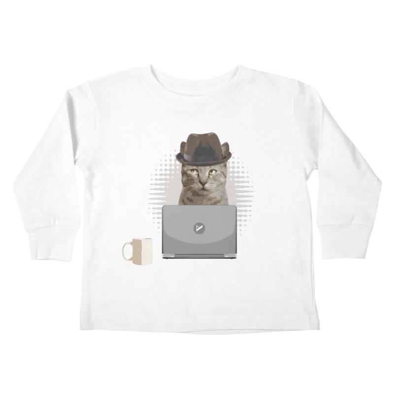Doing the Math Kids Toddler Longsleeve T-Shirt by Var x Apparel