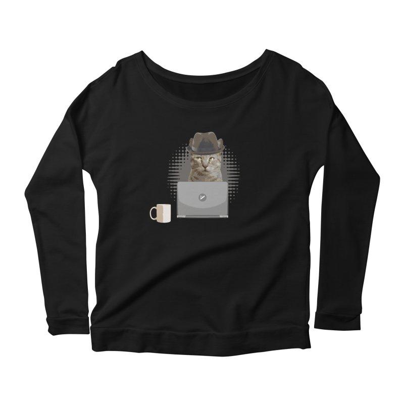 Doing the Math Women's Scoop Neck Longsleeve T-Shirt by Var x Apparel