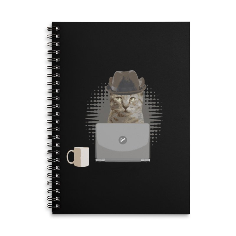 Doing the Math Accessories Lined Spiral Notebook by Var x Apparel