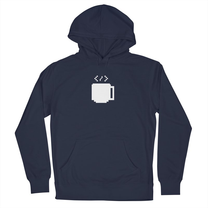 Code and Coffee Women's French Terry Pullover Hoody by Var x Apparel