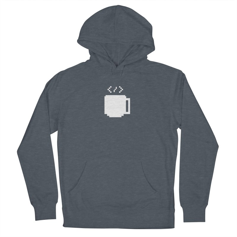 Code and Coffee Men's French Terry Pullover Hoody by Var x Apparel