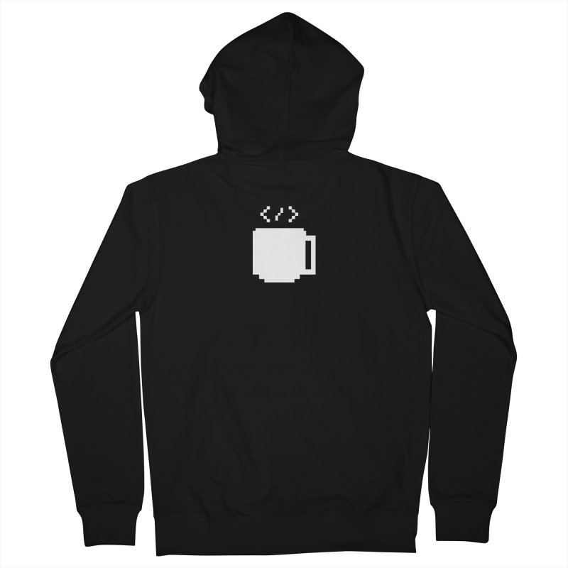Code and Coffee Women's French Terry Zip-Up Hoody by Var x Apparel