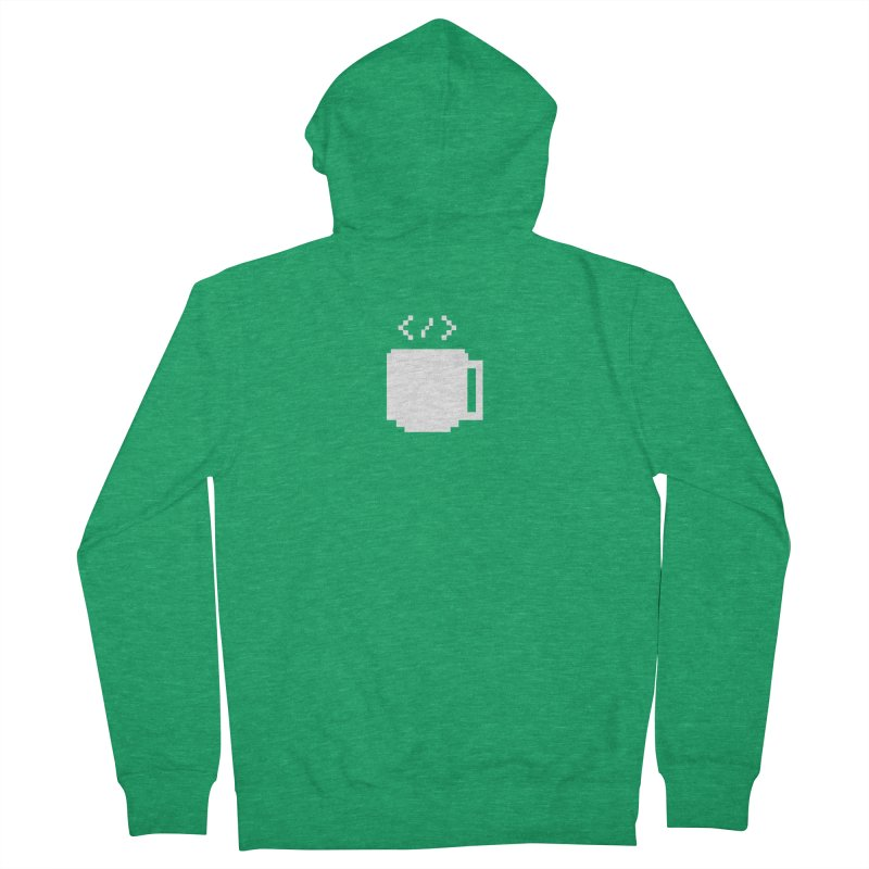 Code and Coffee Men's Zip-Up Hoody by Var x Apparel