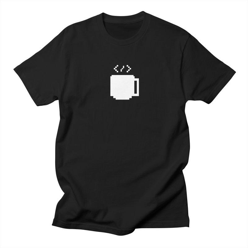 Code and Coffee Men's Regular T-Shirt by Var x Apparel