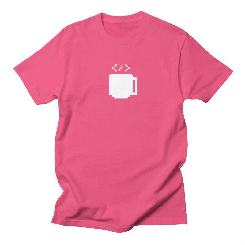 Code and Coffee Women's Regular Unisex T-Shirt by Var x Apparel