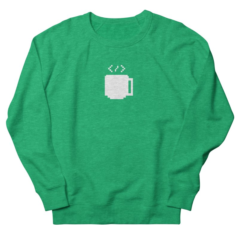 Code and Coffee Men's French Terry Sweatshirt by Var x Apparel