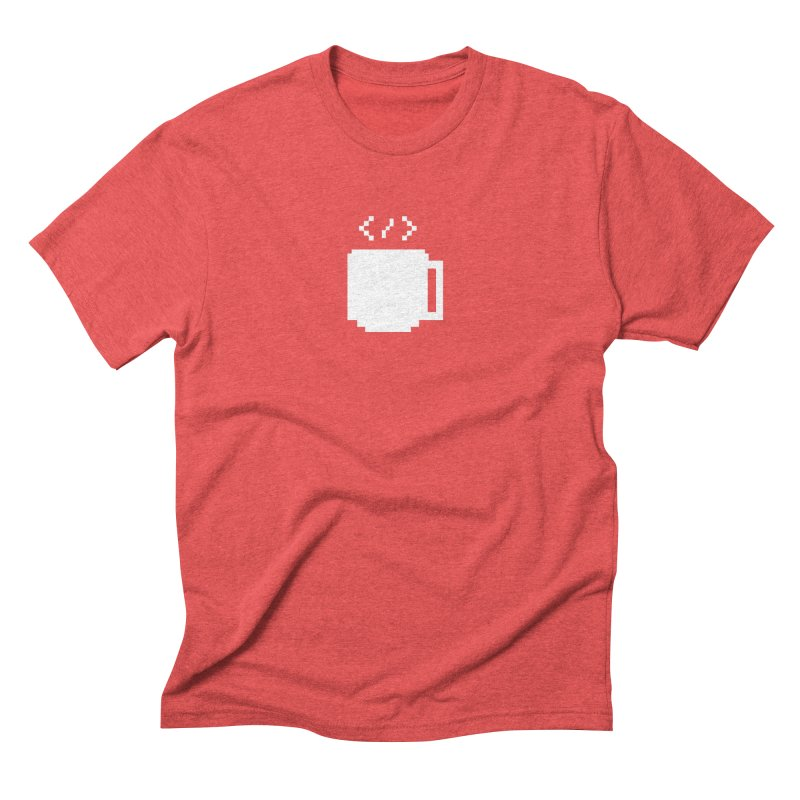 Code and Coffee Men's Triblend T-Shirt by Var x Apparel