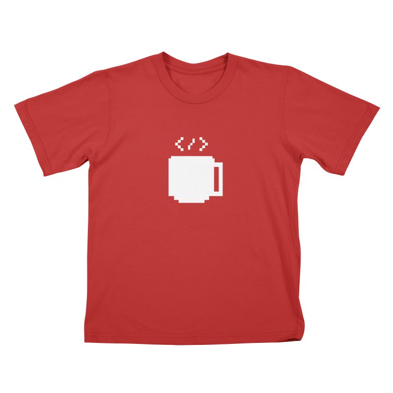 Code and Coffee Kids T-Shirt by Var x Apparel