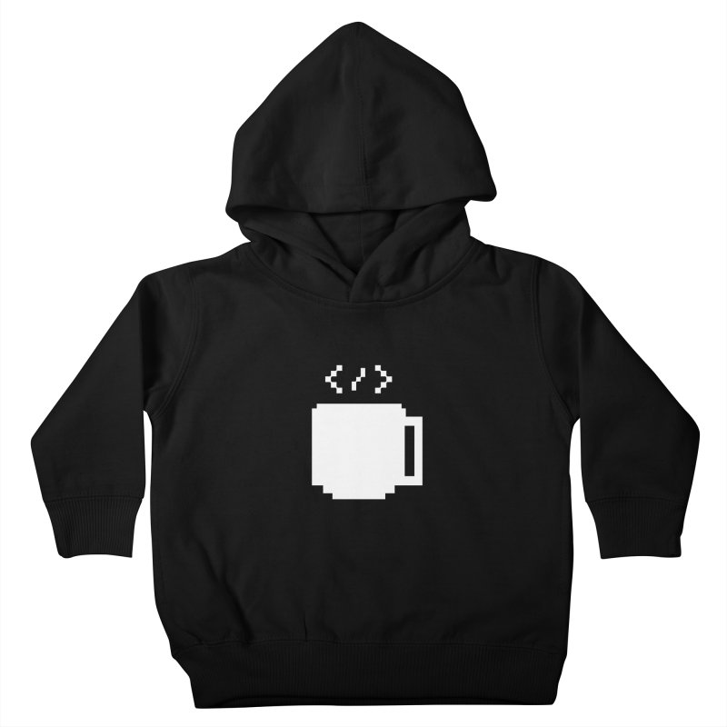 Code and Coffee Kids Toddler Pullover Hoody by Var x Apparel