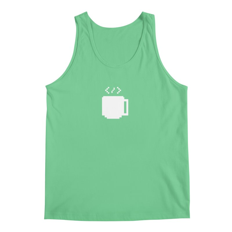 Code and Coffee Men's Regular Tank by Var x Apparel