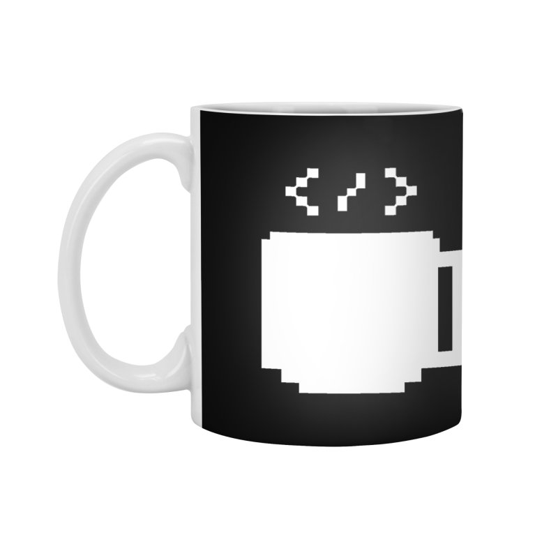 Code and Coffee Accessories Mug by Var x Apparel