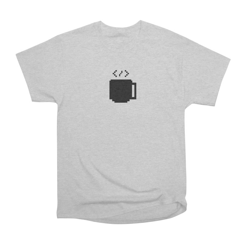 Code and Coffee Women's Heavyweight Unisex T-Shirt by Var x Apparel
