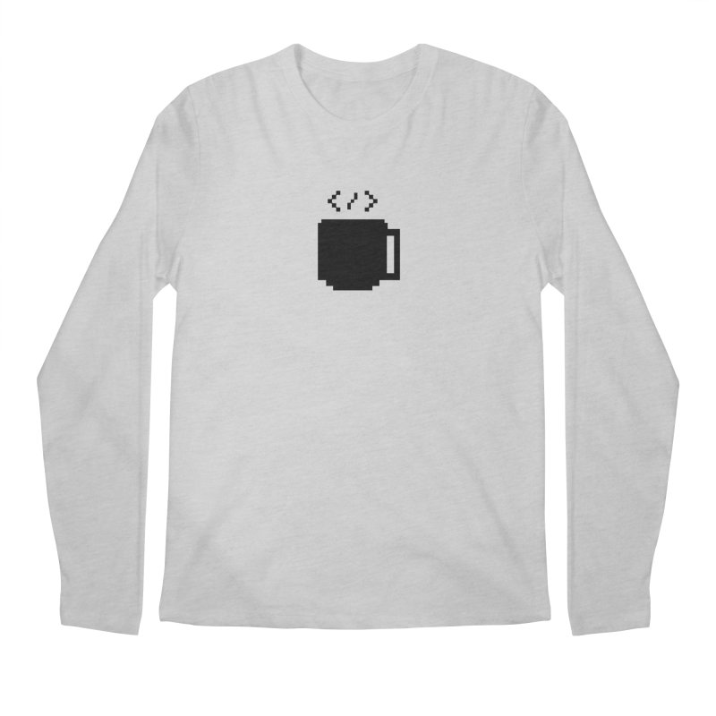Code and Coffee Men's Longsleeve T-Shirt by Var x Apparel