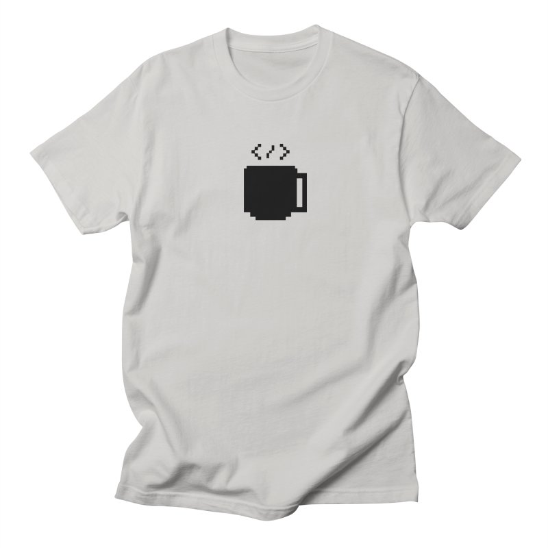Code and Coffee Men's Regular T-Shirt by Var x Apparel