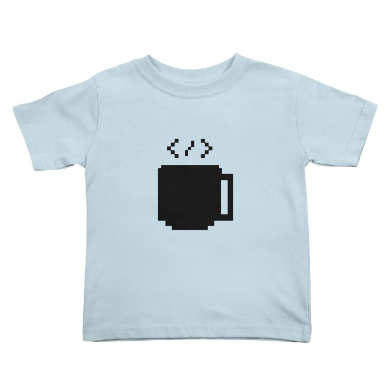 Code and Coffee Kids Toddler T-Shirt by Var x Apparel