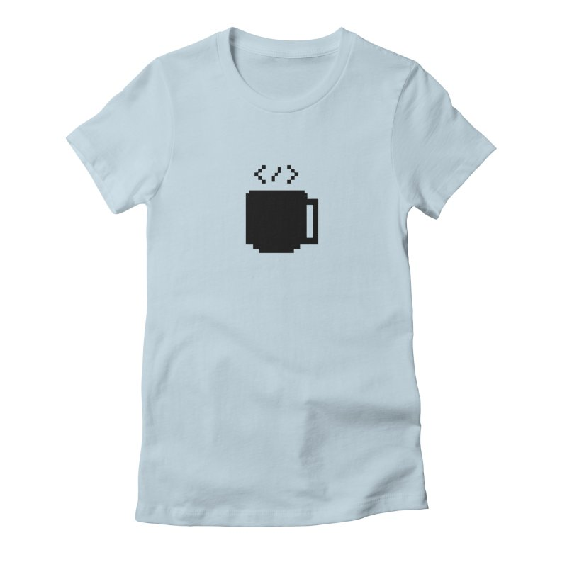 Code and Coffee Women's T-Shirt by Var x Apparel